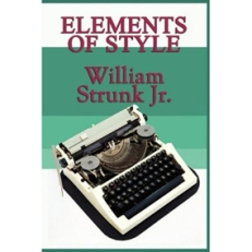 Elements of Style by William Strunk Jnr.